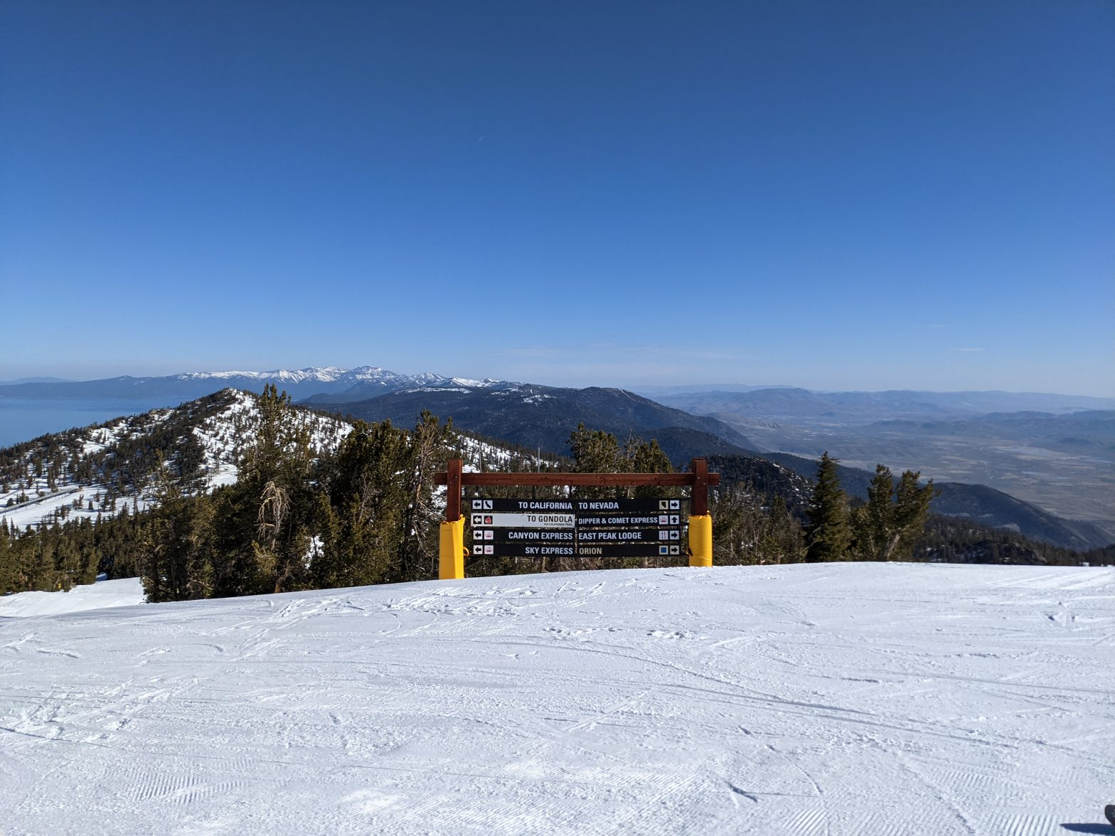 Heavenly Mountain View