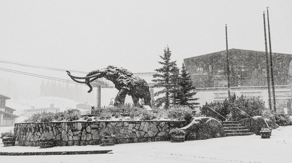 Mammoth Early October Snow